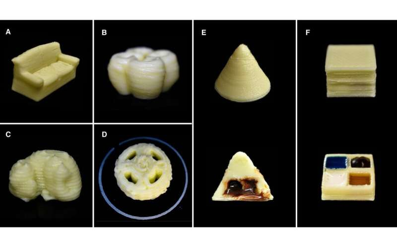 SUTD researchers develop simple method to 3D print milk products