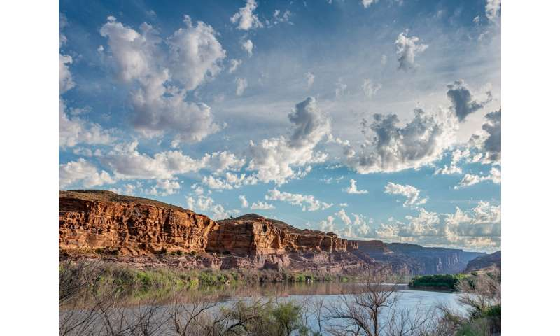 The Colorado river's water supply is predictable owing to long-term ocean memory