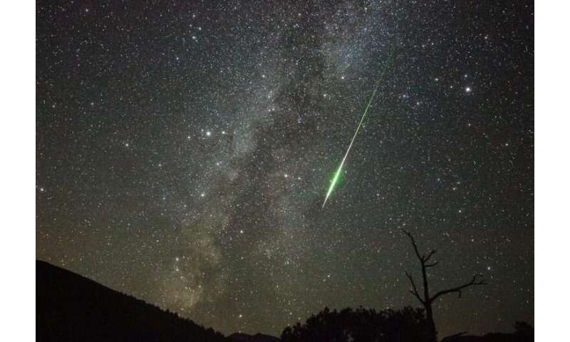 There could be meteors traveling at close to the speed of light when they hit the atmosphere