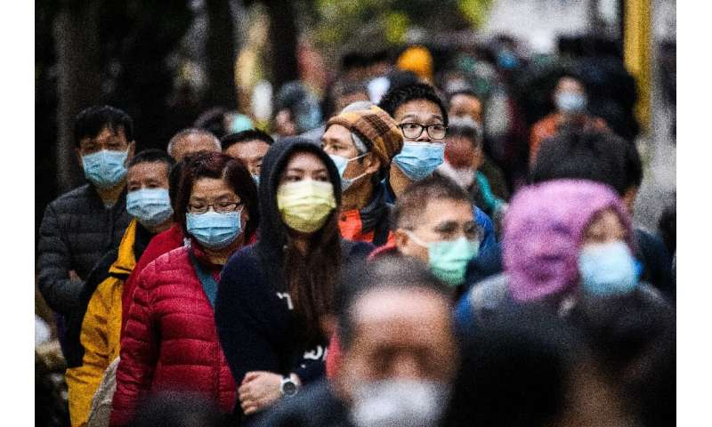 There is huge demand for surgical masks all over Asia