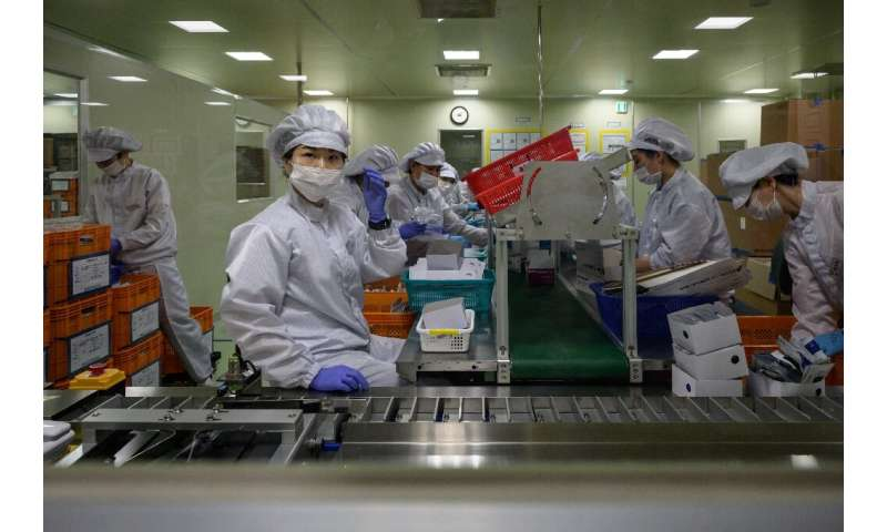 The South Korean government issued an emergency authorisation for the tests' use in just two weeks, expediting a trial process t