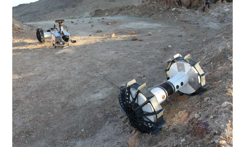 This transforming rover can explore the toughest terrain