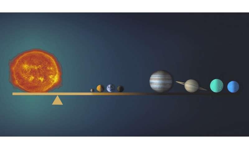 Pour trouver des trous noirs géants, commencez par Jupiter