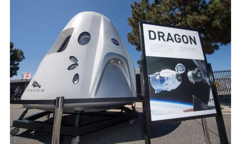 Tourists are to be carried on SpaceX's Crew Dragon capsule, which was developed to transport NASA astronauts and is due to make