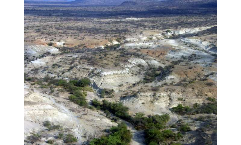 Turbulent environment set the stage for leaps in human evolution and technology 320,000 years ago