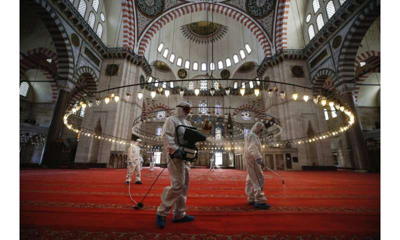 Turkey nears end of latest lockdown, death toll up to 4,397