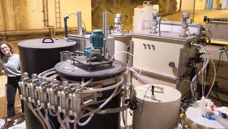 Convertir los nutrientes de las aguas residuales en fertilizante