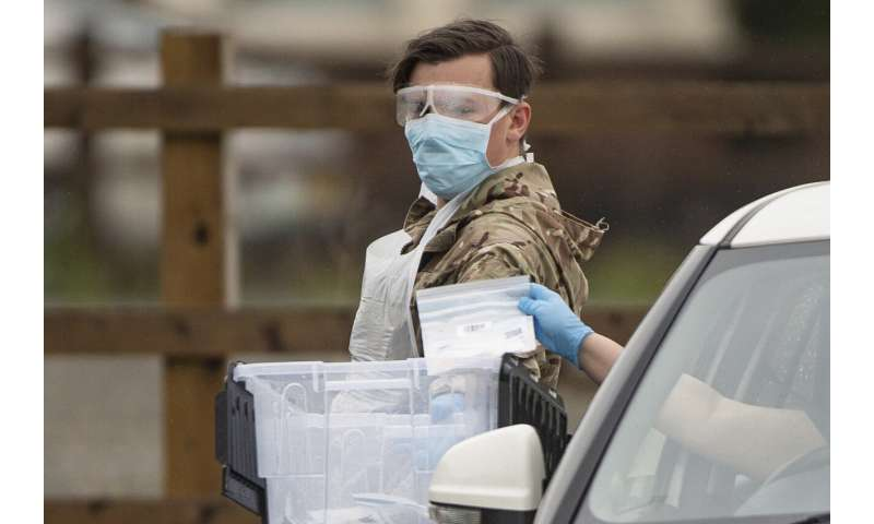 UK admits it could miss 100,000 daily virus tests target