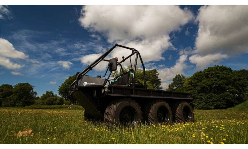 UK leads green revolution in defence and off-highway transport