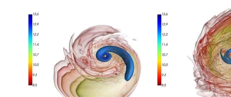 "Unequal neutron-star mergers create unique ""bang"" in simulations"