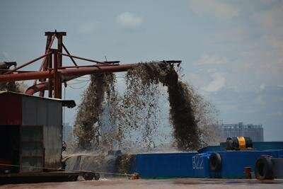 Unsustainable sand mining is threatening lives along the Mekong River in Cambodia