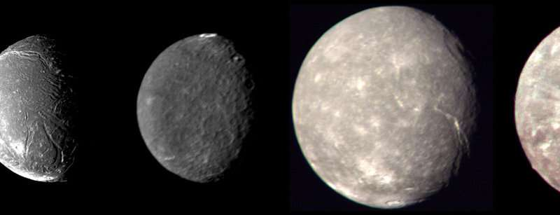 Uranian moons in new light