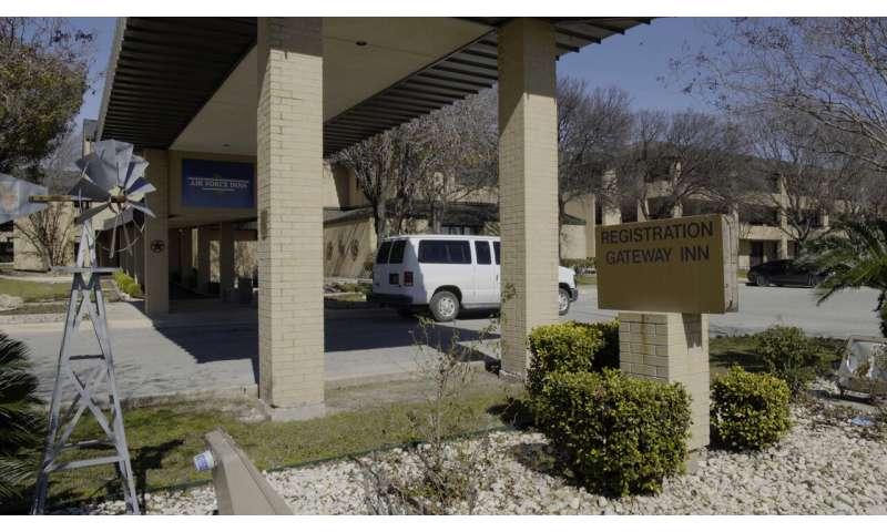 US announces 15th virus case, this one in Texas evacuee