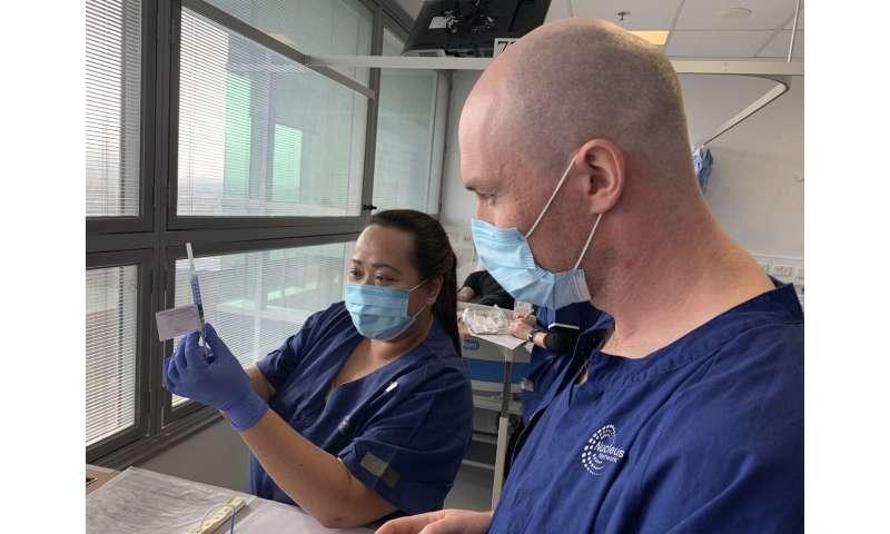 US company trials coronavirus vaccine candidate in Australia