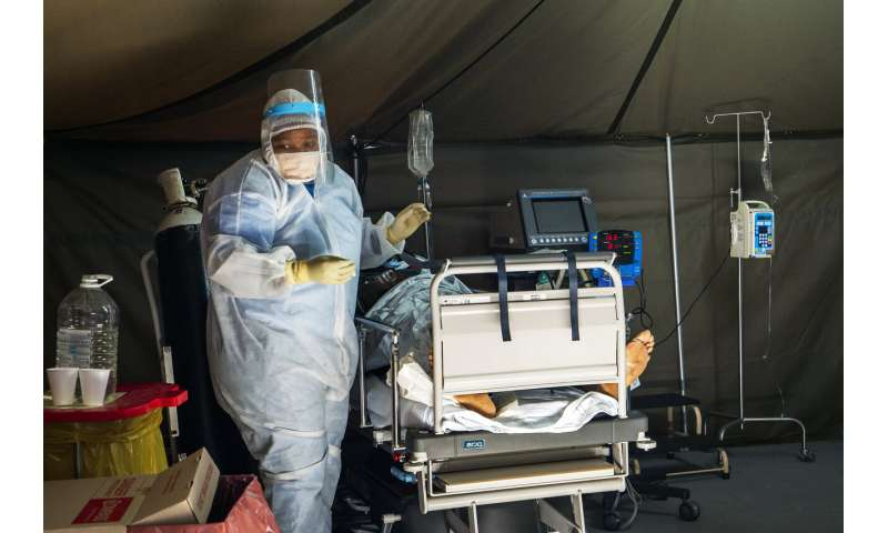 Virus cases up sharply in Africa, India as inequality stings