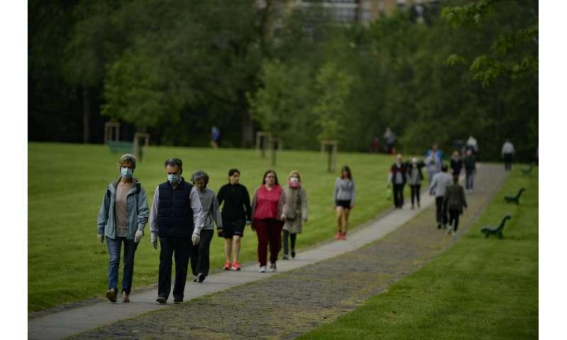 W. Europe relaxing virus measures, but Russian numbers spike