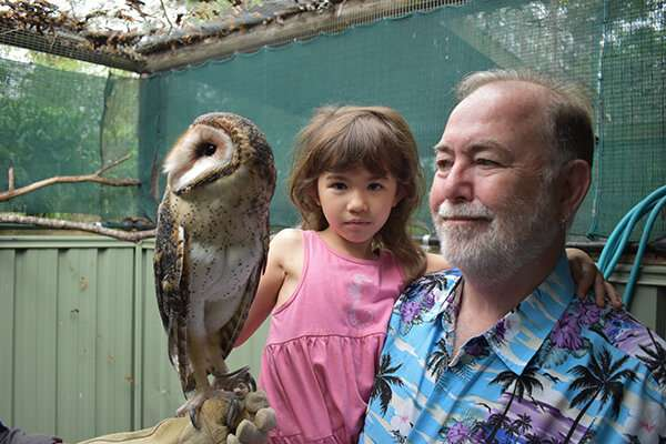 What a hoot: the adventures of Australia's youngest scientist