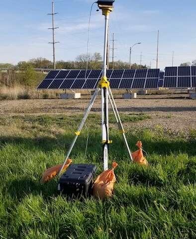 Why do birds crash into solar panels?