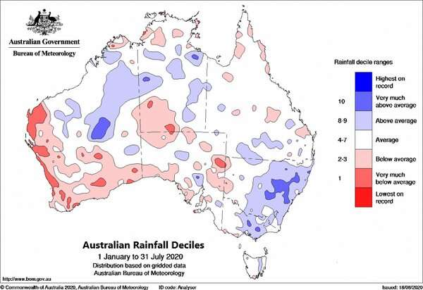 Yes, it's been raining a lot – but that doesn't mean Australia's drought has broken