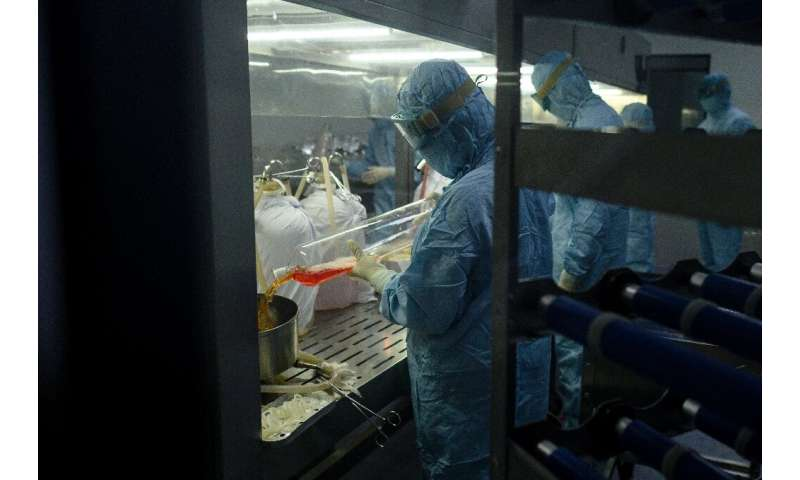 Yisheng Biopharma said it would be able to produce 500 million vaccine doses a year