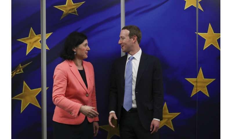 Zuckerberg meets EU officials as bloc's new tech rules loom