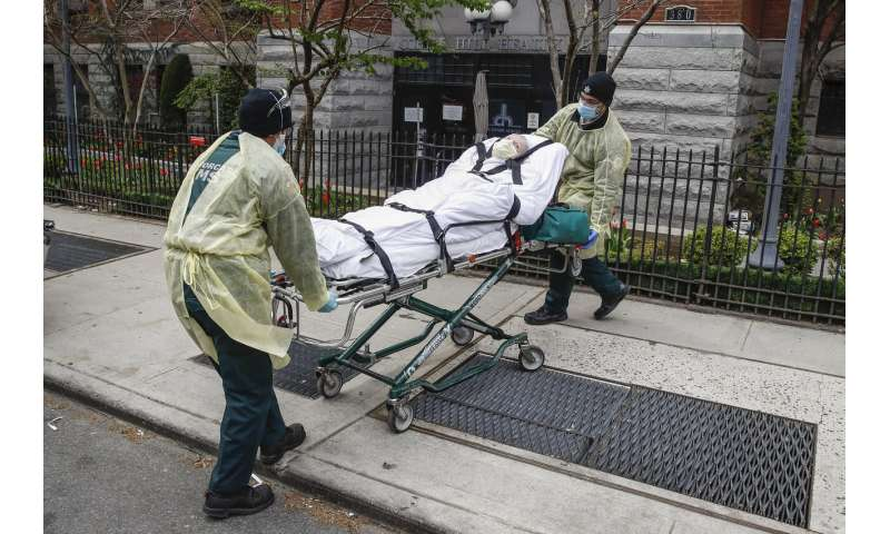 As virus rages in US, New York guards against another rise