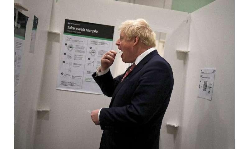 نخست وزیر انگلیس بوریس جانسون دستور جدید