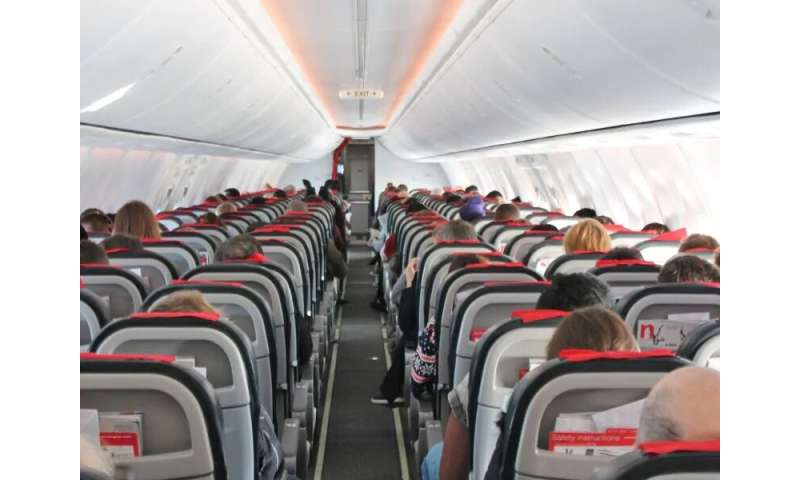Coronavirus on a plane: one flight's history outlines the risk