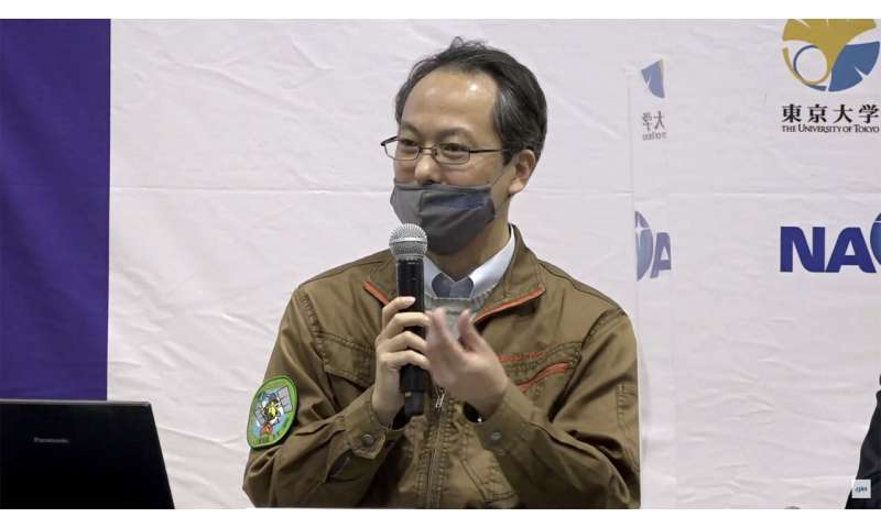 Japan awaits capsule's return with asteroid soil samples