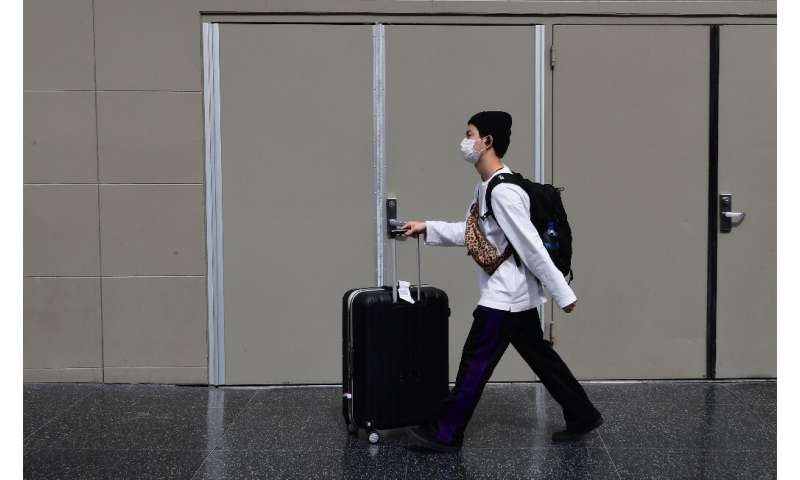 The coronavirus outbreak has disrupted travel across the globe