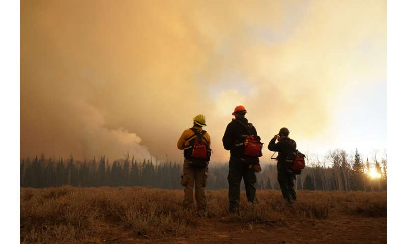 Climate change and 'atmospheric thirst' to increase fire danger and drought in NV and CA