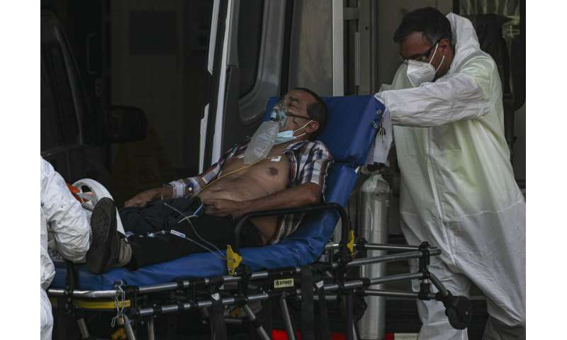 Chile's hospital ICUs near full capacity as pandemic rages