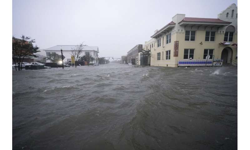 Hurricane Sally unleashes flooding along the Gulf Coast