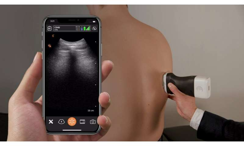 Researchers develop portable ultrasound scanner network for COVID-19
