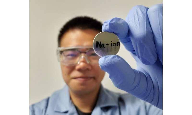 Researchers develop viable sodium battery
