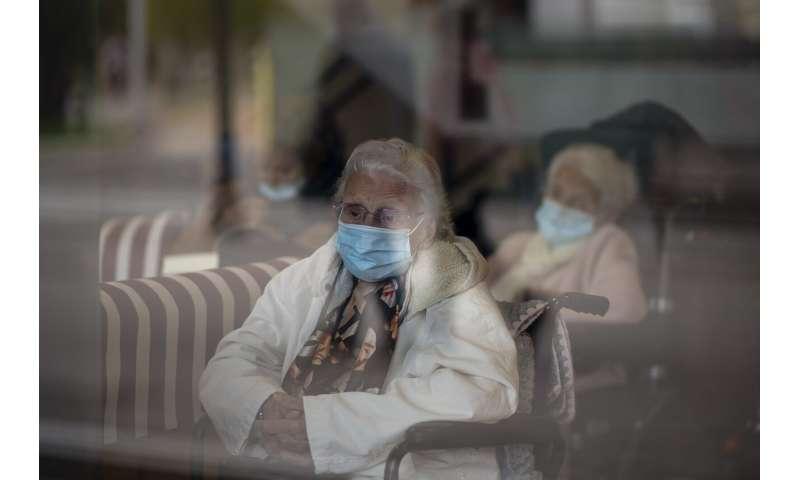 Europe battles surge in coronavirus deaths in nursing homes