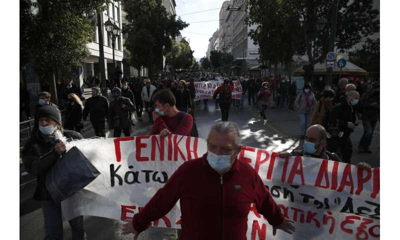 Greece extends coronavirus lockdown by a week