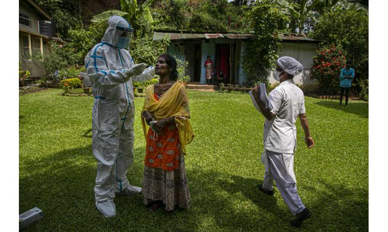 India records highest daily increase in virus cases globally