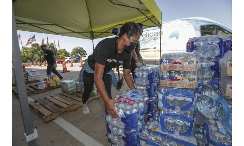 Laura's leftovers move east, leaving a disaster in Louisiana