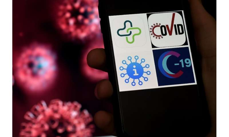 Researchers and tech firms say it is possible to alert people when they have been in contact with an infected person, via smartp