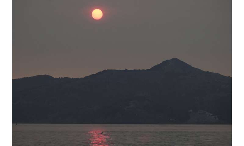San Francisco blanketed in smoke as California fires rage