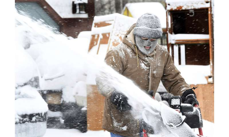 'Unbelievable' snowfall blankets parts of the Northeast
