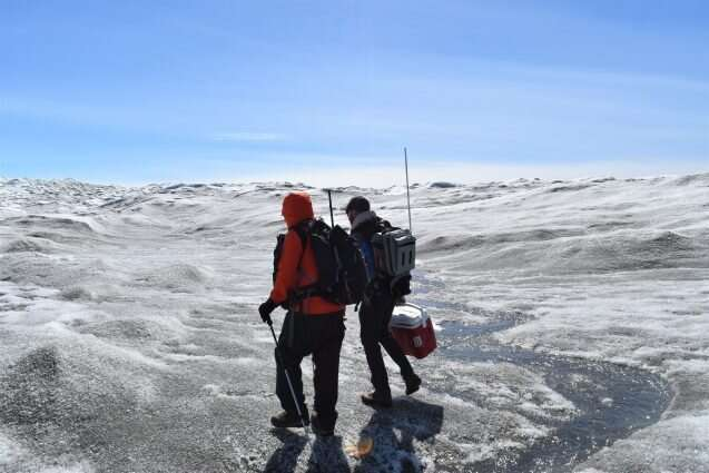 Scientists harness satellites to track algae growth on Greenland ice sheet
