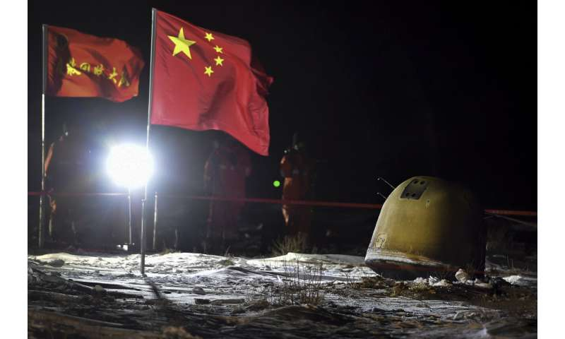 Moon rocks in hand, China prepares for future moon missions