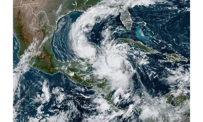 Hurricane Delta intensified into a Category 4 storm in the Caribbean and was headed towards Mexico