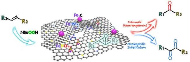 Scientists propose novel bifunctional iron nanocomposite catalyst
