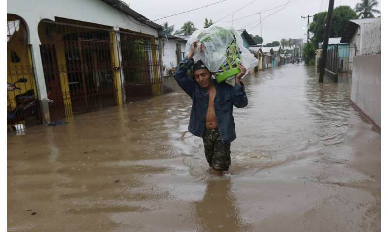 Eta back to sea as Central America tallies damages and dead