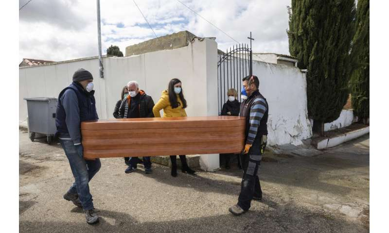 Agonizing decisions being made in Spain's virus hot spots