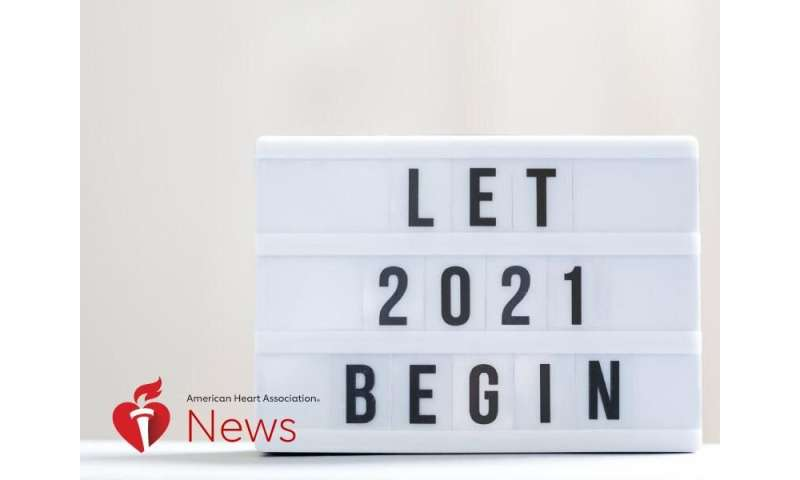 AHA news: here's to a healthy 2021, with resolutions from heart doctors