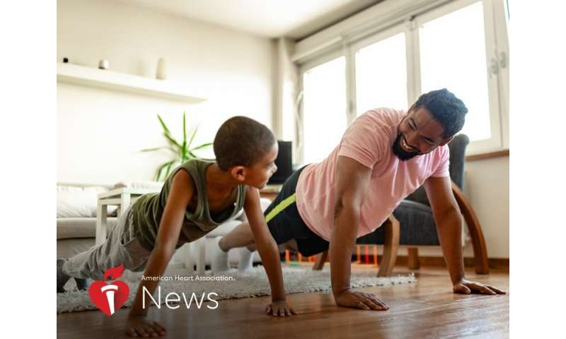 AHA news: how to keep kids active while learning from home – and why that's vital